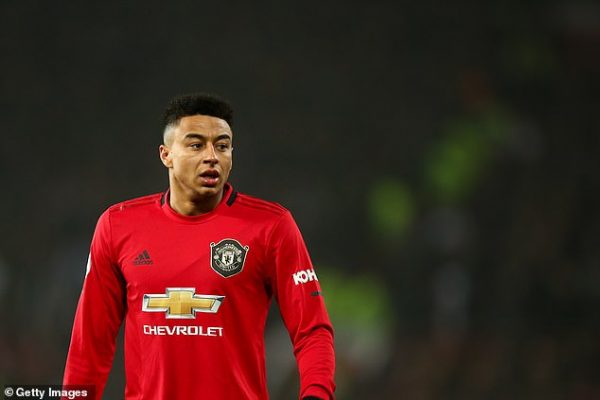 Atletico Madrid are interested in Jesse Lingard.
