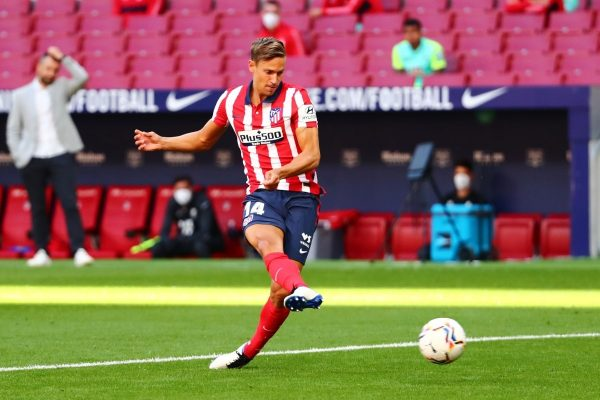 Atletico Madrid are in talks over a new contract with Marcos Llorente